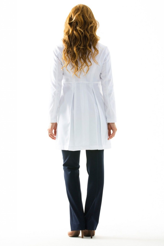 Lab Coat Back Skirt